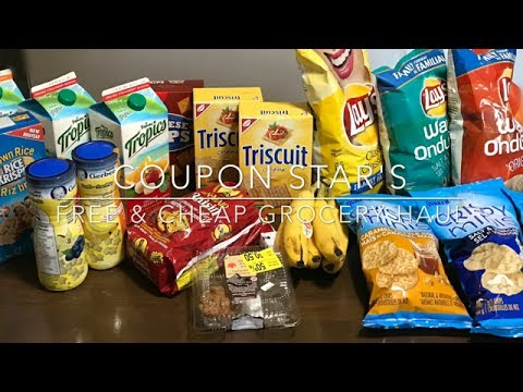 FREE & CHEAP GROCERY HAUL – July 21st – COUPONING IN CANADA!