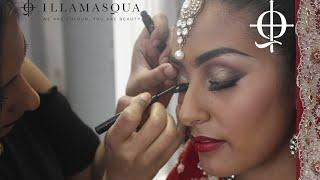 Asian Bridal Make Up Tutorial with Illamasqua Artist Leena Thumbnail