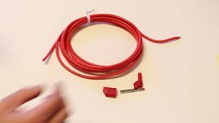 How to put a field retrofittable stackable banana plug on a 10 gauge silicone wire