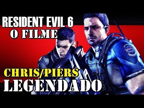 RESIDENT EVIL 6: CHRIS & PIERS - FILME COMPLETO - LEGENDAS BRASIL [1080p]