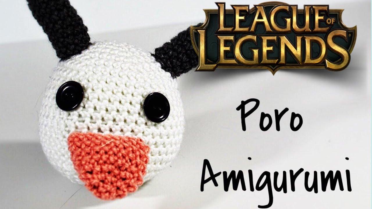 How to Crochet - League of Legends Poro Amigurumi - YouTube