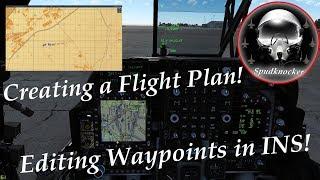 Harrier II NA manuel geçiş noktası & Uçuş Planı Oluşturma Eğitimi | DCS: AV-8B