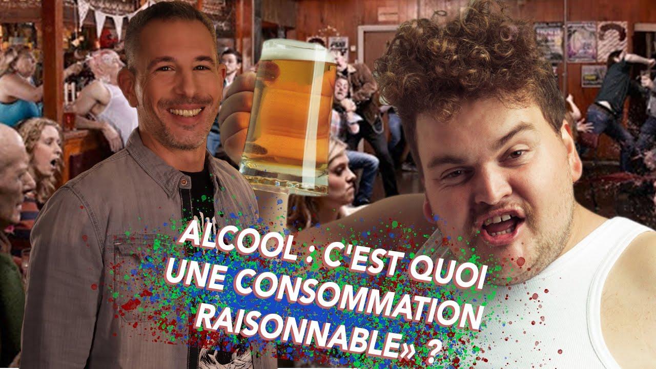 ALCOOL : C'EST QUOI UNE CONSOMMATION «RAISONNABLE» ?