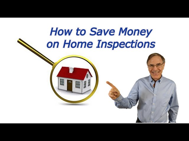 How You Can Save Money on Home Inspections