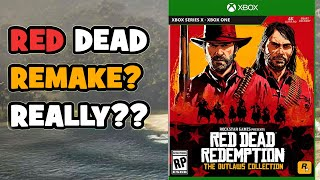 Red Dead Redemption Remake was really Leaked? RDR 1 and The Outlaws Collection Remastered rumors