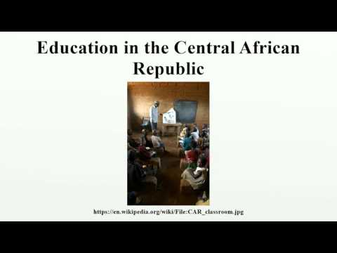 Education in the Central African Republic