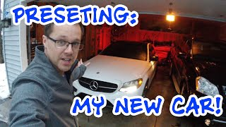 My new car is here! First look and drive of my Mercedes C450 AMG
