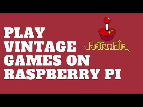 Play Vintage Games on Raspberry Pi