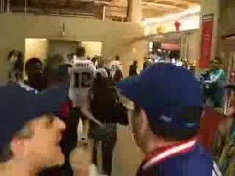Super Bowl XLII Fight Giants vs Patriots