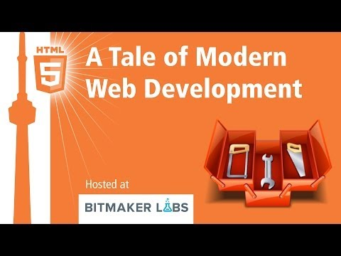 A Tale of Modern Web Development