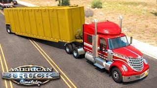 Dziwna naczepa - American Truck Simulator | (#56)