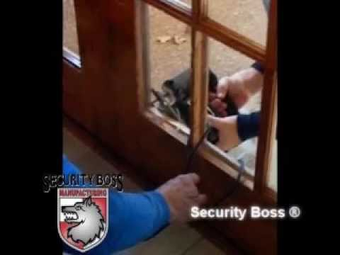 Maxseal French Door Pet Door Security Boss Manufacturing Llc Youtube