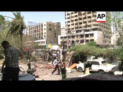 Syrian TV: Bombing in Damascus kills 13 people