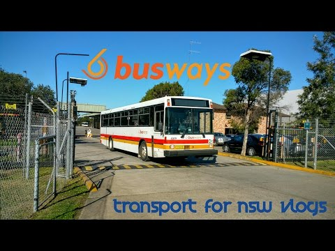 Transport for NSW Vlog No.1038 Busways Glendenning