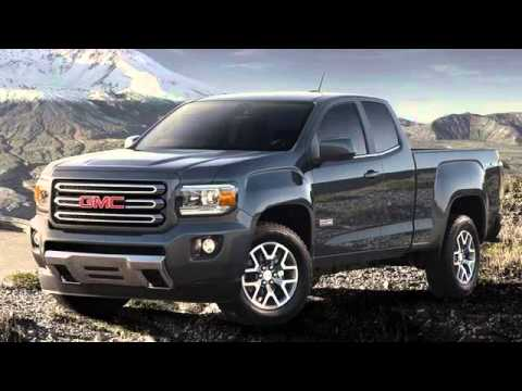 2017 GMC Canyon 2 5L 4x4 Mid Size Pickup Truck - YouTube
