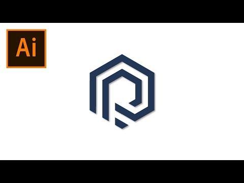 P Logo Design Tutorial Illustrator thumbnail
