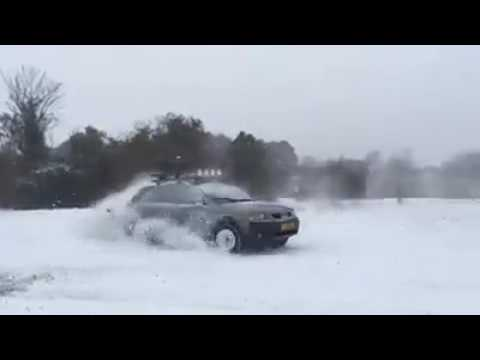 Audi A6 Allroad Quattro on Snow