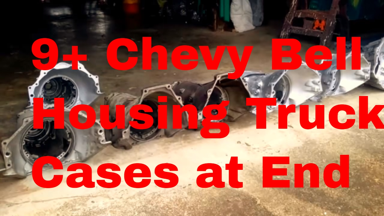 Chevy 4l60e transmission bellhousing changes differences 4X4 cases