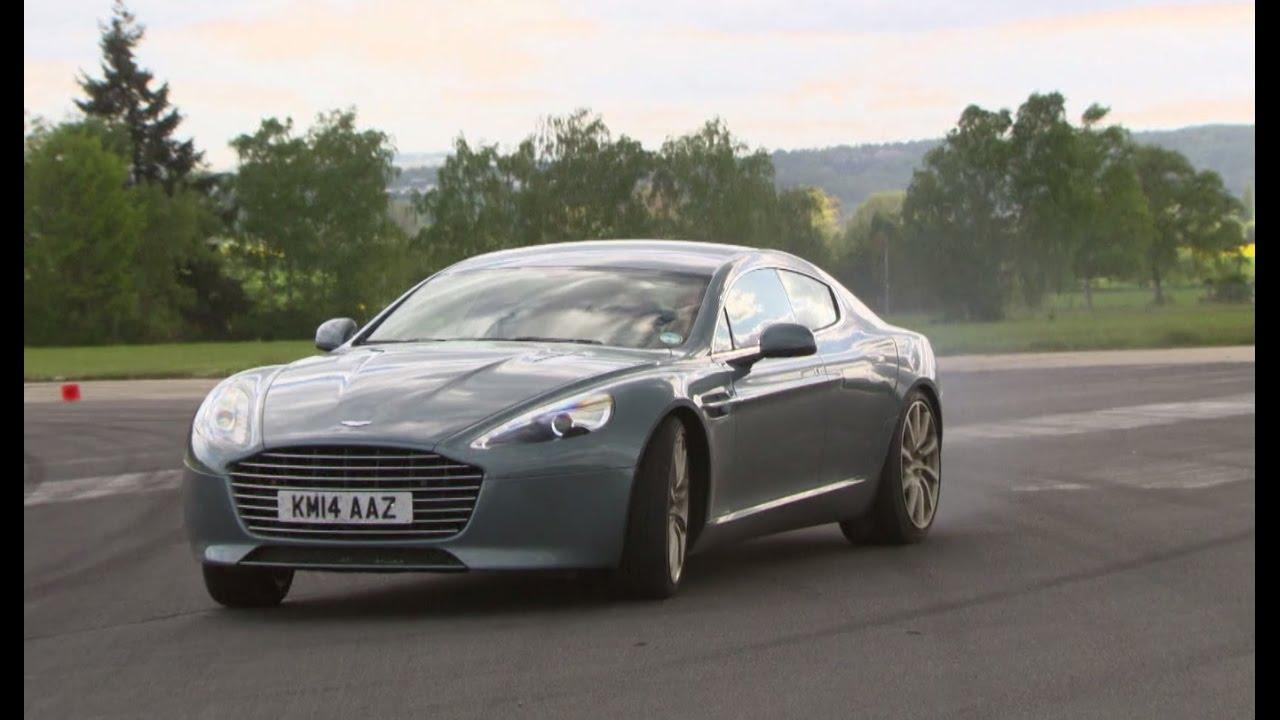 Aston Martin Rapide S V12 Limousine Die Tester Auto Motor Und Sport Youtube