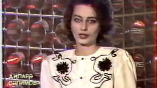 TV-DX AZTV Azerbaidschan 27.04.1992