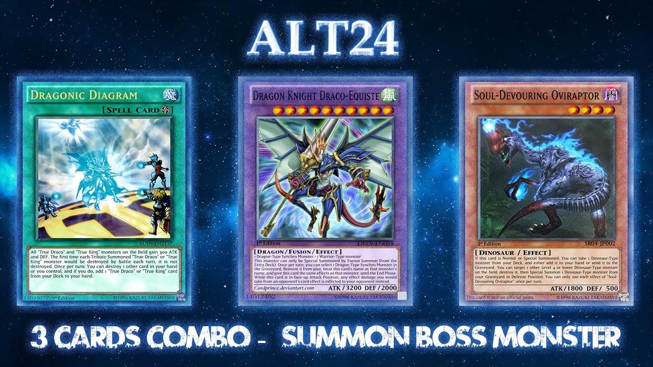 3 Cards Combo - Summon Boss Monster