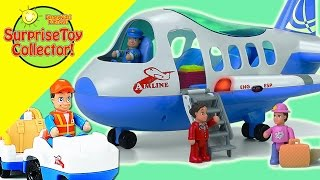 ♥ Little Learner Airport Playset  |  Surprise Toy Collector - DisneyKidsFunToys