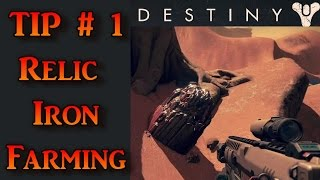 Destiny Tips: Relic Iron Farming