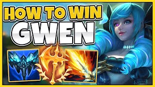 (GWEN GUIDE) HOW TO WIN EVERY SINGLE GAME AS GWEN (BUILD, STRATEGY, AND MORE!) - League of Legends