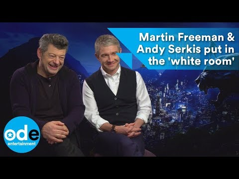 Black Panther: Martin Freeman & Andy Serkis put in the 'white room'