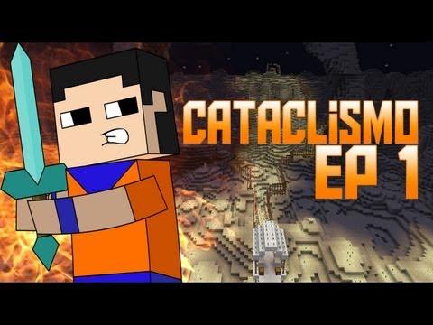 Minecraft para PC: Mapa de Aventura Cataclismo!! Ep 1
