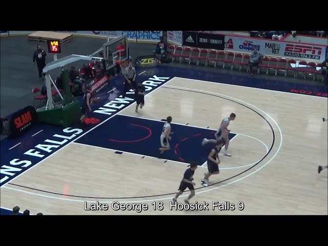 Game Highlights Boys' Varsity: Lake George 55 vs Hoosick Falls 30 (F)