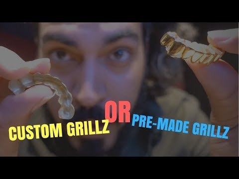 Gold Plated Grillz Vs Solid Custom Real