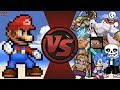 LOST Mario Animation + Mario vs The World! (Mario vs Sonic, Undertale, Goku, Playstation, Minecraft)