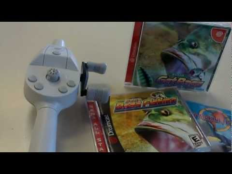 Dreamcast Short #2 Fishing Controller