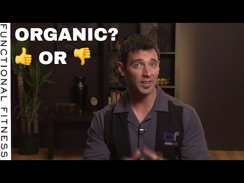 Is Organic Produce Just As Good? - Nutrition Advice with Dr. John Berardi