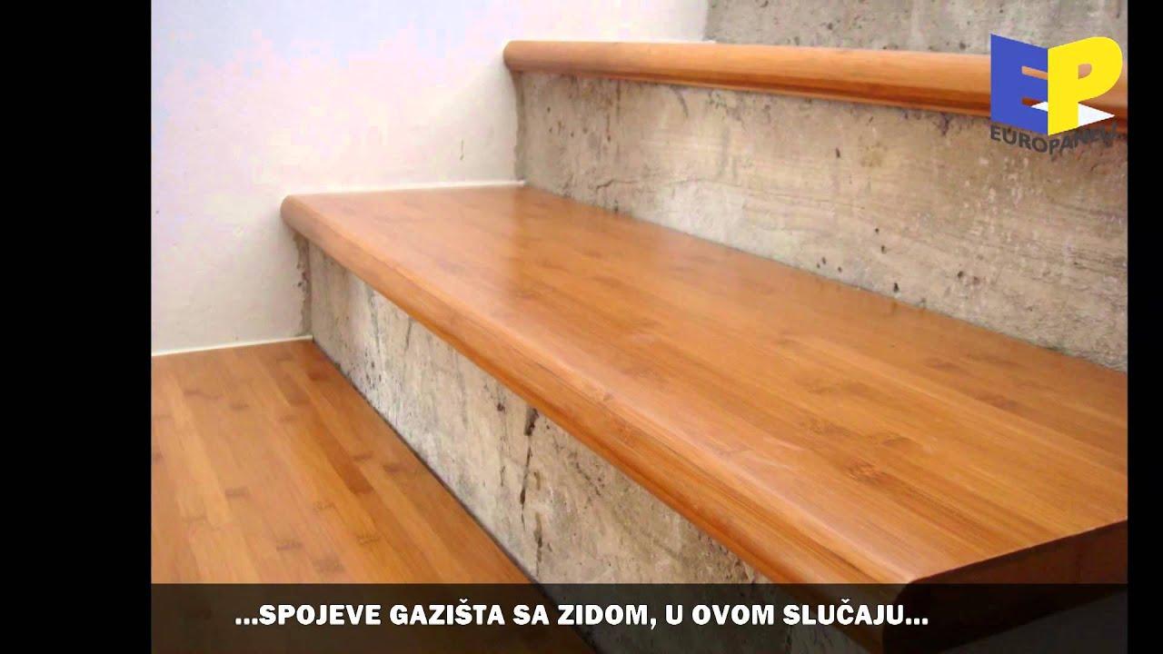 polaganje gotovo lakiranih gazi ta od parenog bambusa youtube. Black Bedroom Furniture Sets. Home Design Ideas