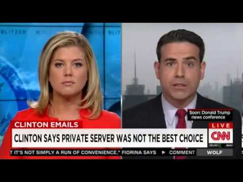 Hillary Clinton's press secretary pressed on emails