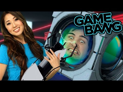 WE LOSE OUR MINDS IN PORTAL 2 (Game Bang)