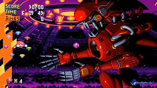 Chaotix Mania Demo 2 Sonic Mania PLUS Mods Walkthrough