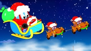 We Wish You a Merry Christmas | Christmas Songs for Children | Little Red Car Cartoons