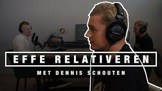 DENNIS SCHOUTEN over FAMKE LOUISE, JOHAN DERKSEN, POLITIEK EN ONLINE DISCUSSIES | EFFE RELATIVEREN