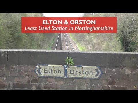 Elton & Orston - Least Used Station in Nottinghamshire