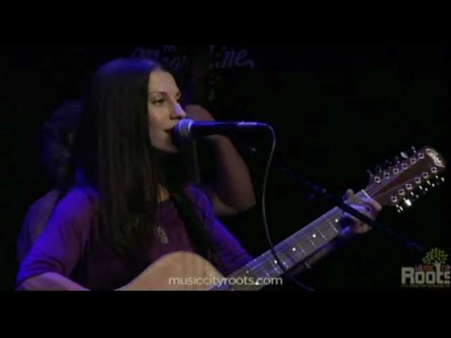 "Natasha Borzilova performing ""Cheap Escape"" at Music City Roots"