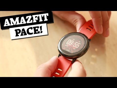 Amazfit Pace, an AWESOME smartwatch for under US$100!