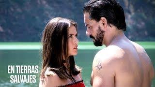 En Tierras Salvajes   Isabel y Daniel tienen un encuentro que casi termina en beso