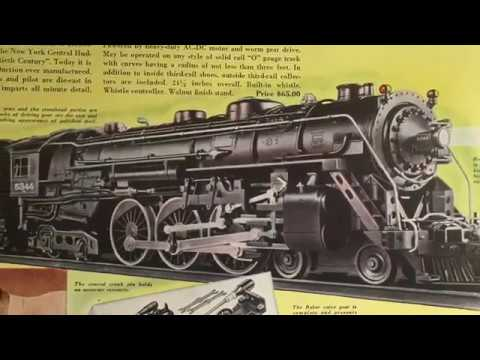 Classic Lionel Trains –  Introduction to Prewar Loco Videos 1915-1942