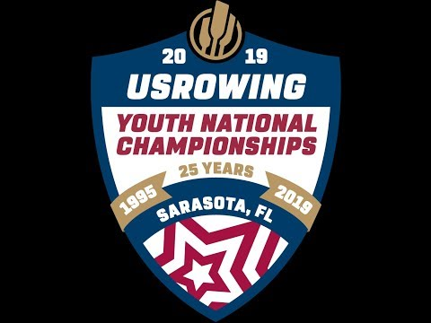 2019 USRowing Youth Nationals Friday - D Level Finals