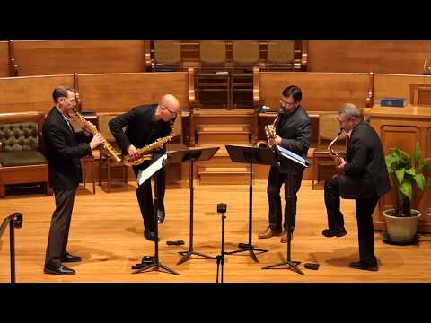 "PRISM Quartet Performs ""Spring/Neap"" (2012) By Gabriella Smith"