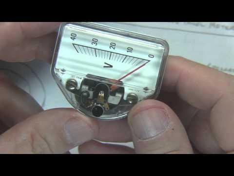 #235: Basics of Analog Panel Meters | Analog meter movements | D'Arsonval