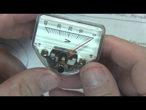 #235: Basics of Analog Panel Meters | Analog meter movements | D'Arsonval